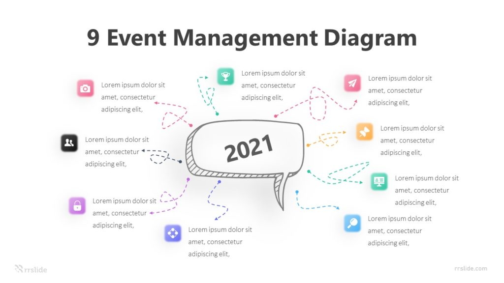 9 Event Management Diagram Infographic Template