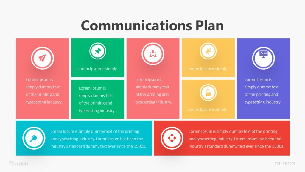 Communications Plan Infographic Template