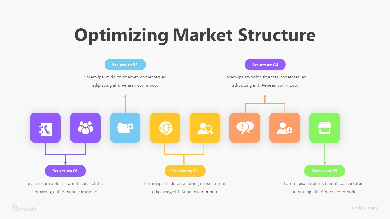 Optimizing Market Structure Infographic Template
