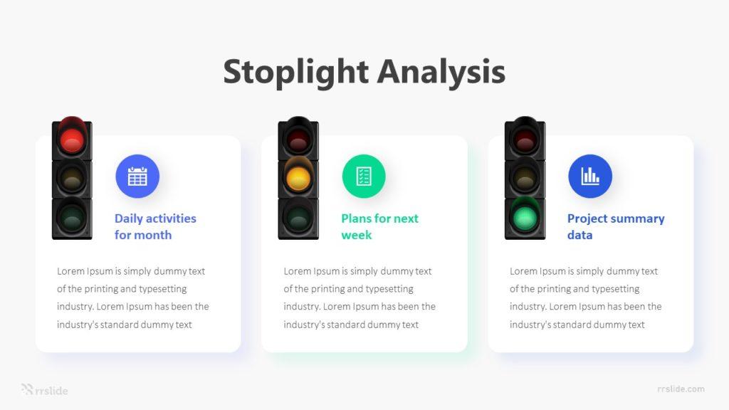 Stoplight Analysis Infographic Template