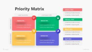 Priority Matrix Infographic Template