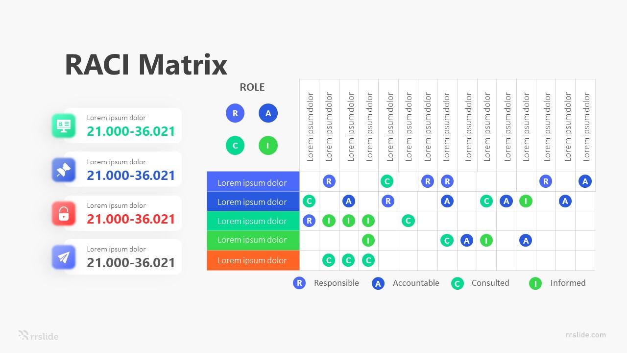 RACI Matrix Infographic Template