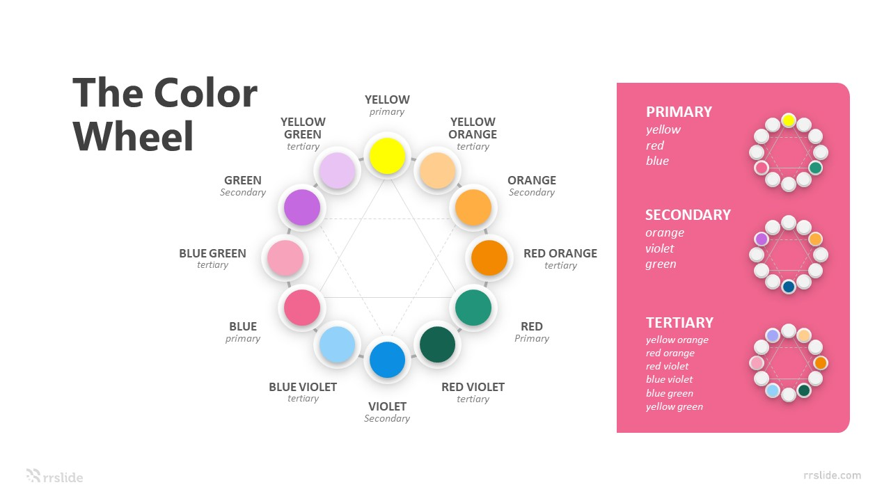 The Color Wheel Infographic Template