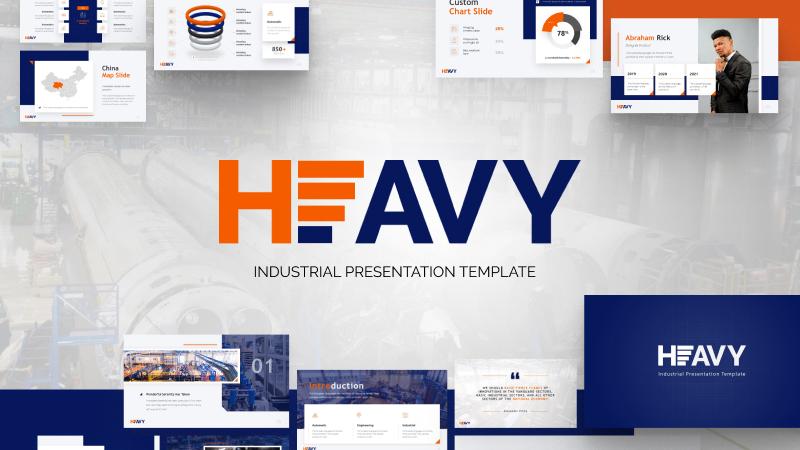 Heavy Industry PowerPoint Template