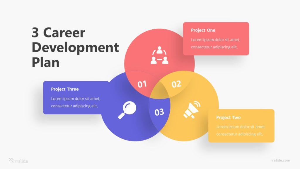 3 Career Development Plan Infographic Template