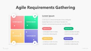 4 Agile Requirements Gathering Infographic Template