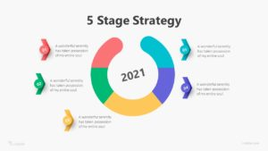 5 Stage Strategy Infographic Template