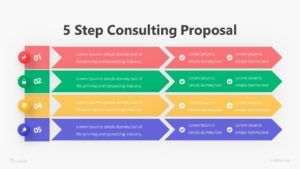 5 Step Consulting Proposal Infographic Template