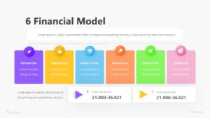 6 Financial Model Infographic Template