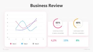 Business Review Infographic Template