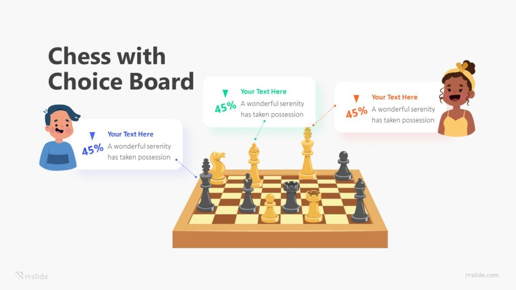 Chess with Choice Board Infographic Template