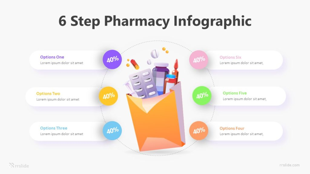 6 Step Pharmacy Infographic Template