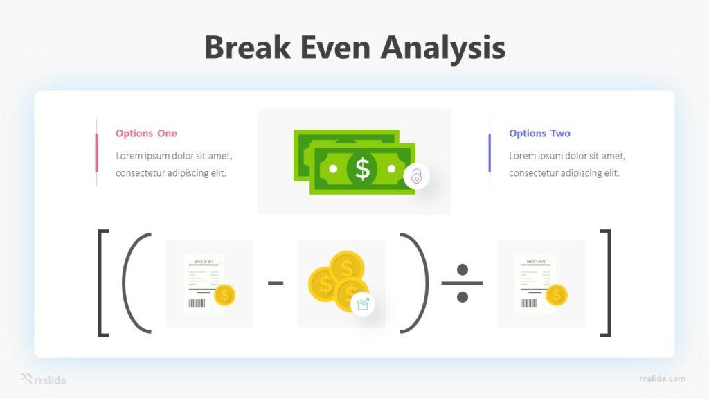 Break Even Analysis Infographic Template
