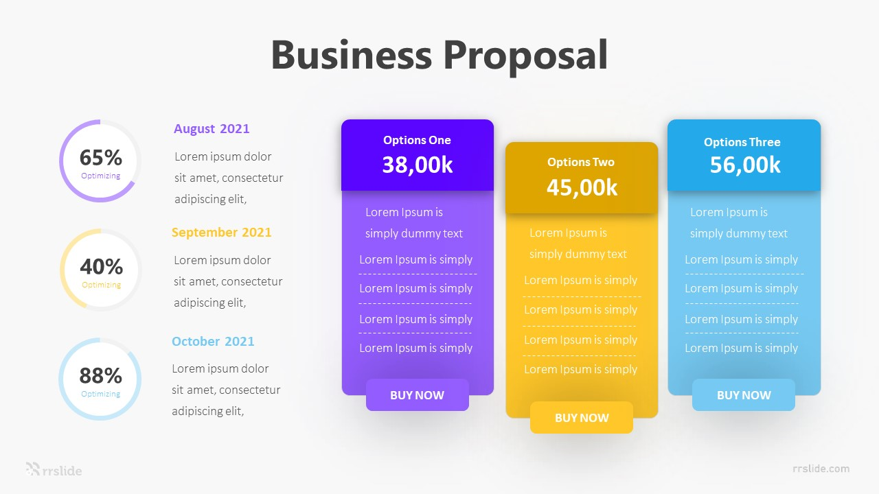 Business Proposal Infographic Template