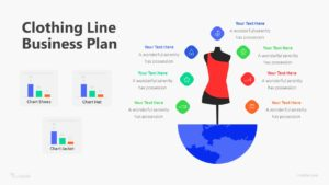 Clothing Line Business Plan Infographic Template