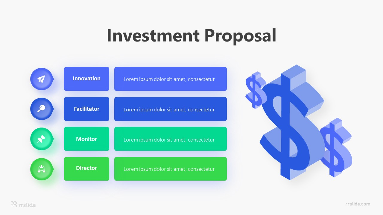 Investment Proposal Infographic Template