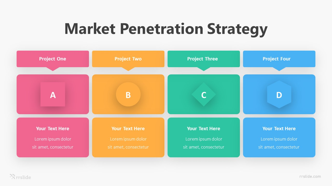 Market Penetration Strategy Infographic Template