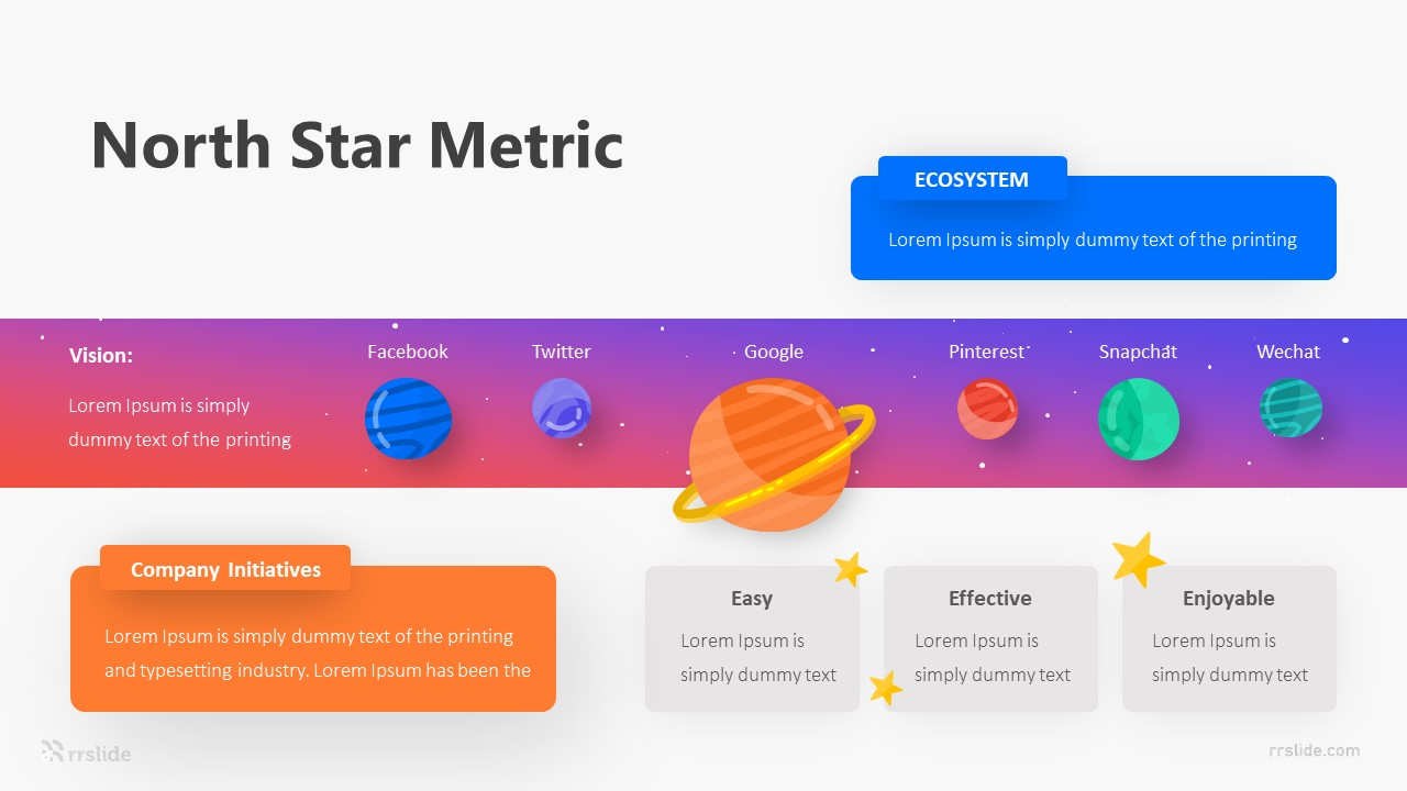 North Star Metric Infograp[hic Template