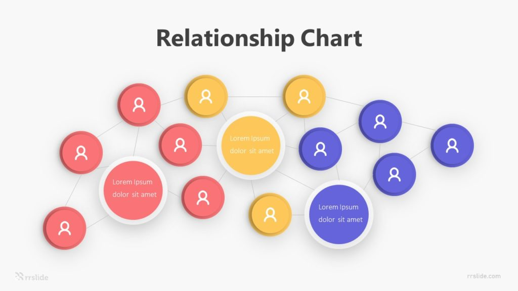 Relationship Chart Infographic Template