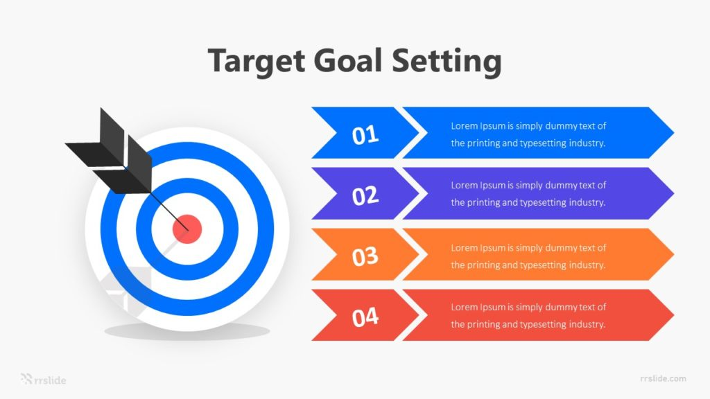 Target Goal Setting Infographic Template