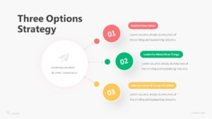 Three Options Strategy Infographic Template