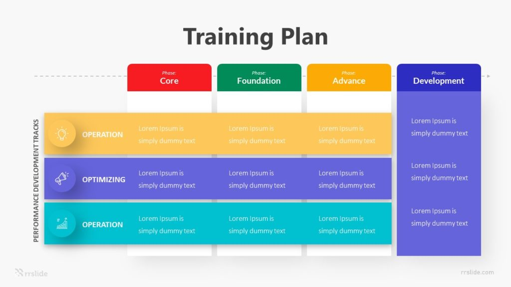 Training Plan Infographic Template