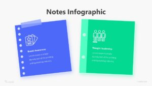 Notes Infographic Template