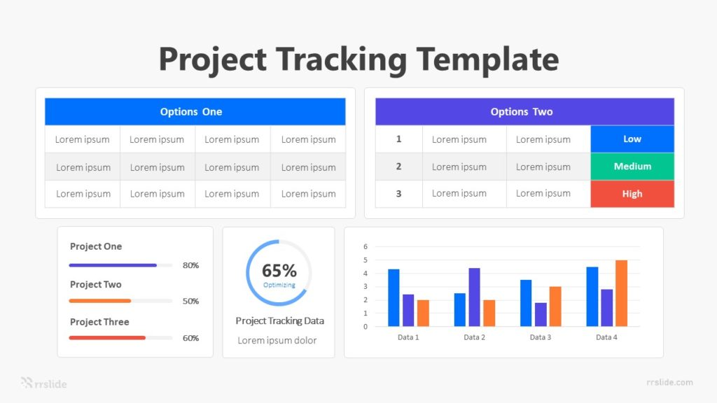 Project Tracking Template Infographic Template