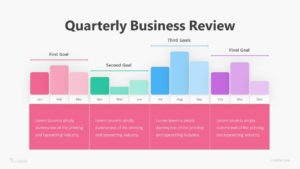 Quarterly Business Review Infographic Template