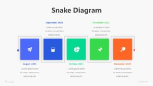 Snake Diagram Infographic Template