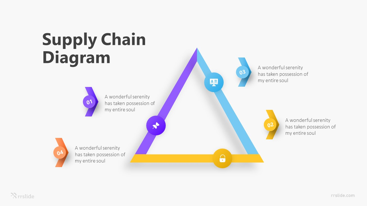 Supply Chain Diagram Infographic Template