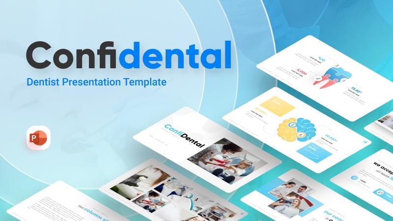 Confidental Dentist PowerPoint Template