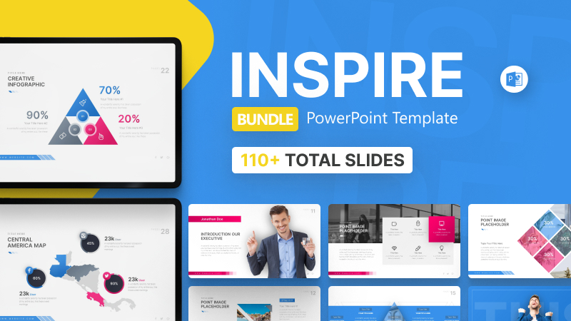 110+ Inspire Bundle PowerPoint Template
