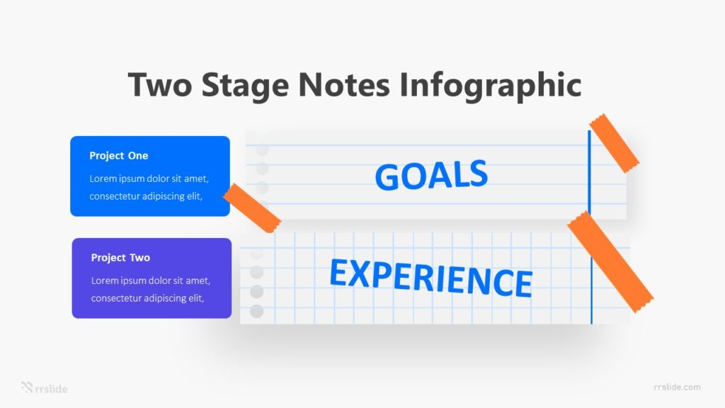 Two Stage Notes Infographic Template