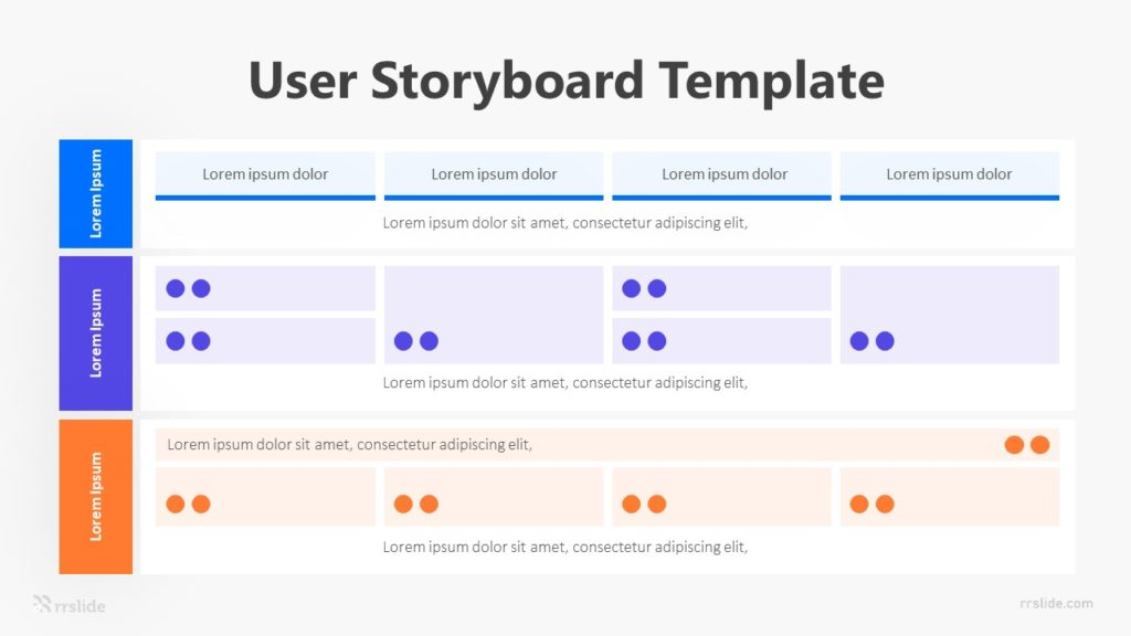 User Storyboard Infographic Template