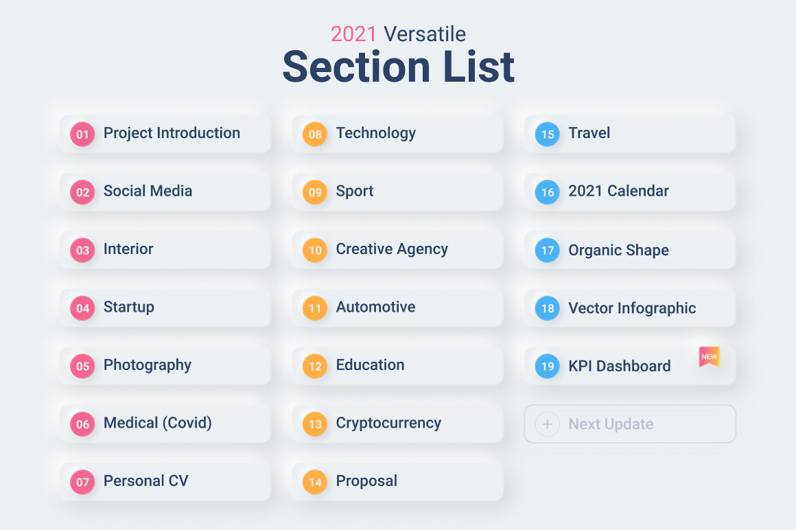 04 Section List