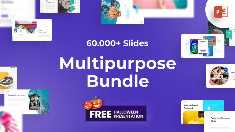 60.000+ Multipurpose Bundle PowerPoint Template