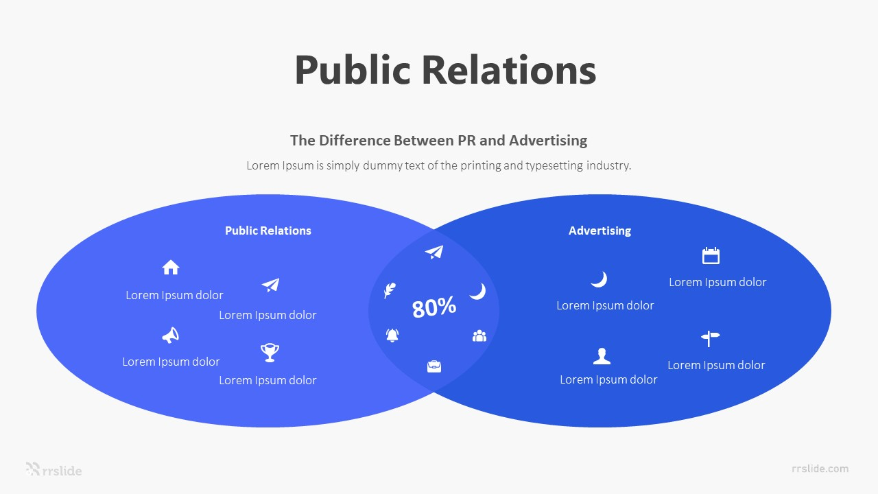 Public Relations Infographic Template