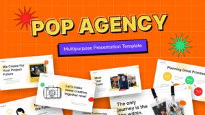 Pop Agency Creative PowerPoint Template