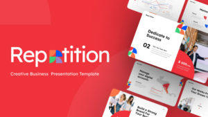 Repetition Creative Business Presentation Template