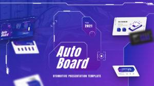 Autoboard Modern Automotive PowerPoint Template