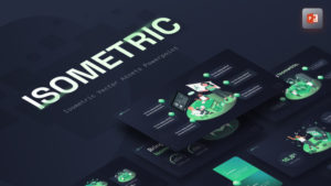 Isometric Vector Asset PowerPoint Template
