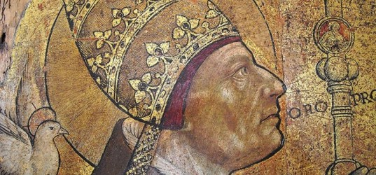 POPE ST GREGORY I THE FIRST MEDIEVAL POPE