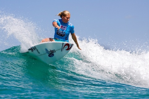 Stephanie Gilmore (AUS), 21, reigning two-time ASP Women's World Champion, claimed the Roxy Pro Gold Coast.