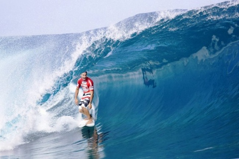Joel Parkinson (AUS), 27, current ASP World No. 1, will look to further cement his ratings' lead at the 2009 Billabong Pro Teahupoo. Photo: ASP/ CI/ WILSON via GETTY IMAGES
