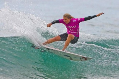 Stephanie Gilmore (AUS), 21, reigning two-time ASP Women's World Champion and current ASP World No. 1, will look to further cement her ratings' lead at the upcoming Commonwealth Bank Beachley Classic. ASP/ CI/ ROBERTSON via GETTY IMAGES