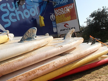 Surf school set to go for the first tranche of students.