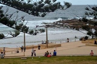 Dee Why Point perspective 5pm