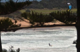 Kiting weather; not so much for surfing