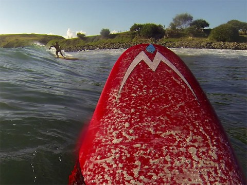 Good to see a mate on a wave - unless you haven't had one yet!